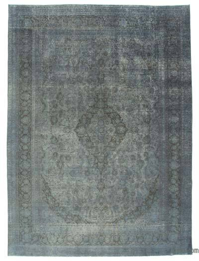 Over-dyed Vintage Rug - 9'6'' x 12'11'' (114 in. x 155 in.)