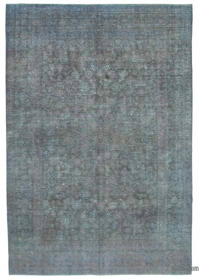 Grey Over-dyed Vintage Rug - 8'8'' x 12'4'' (104 in. x 148 in.)