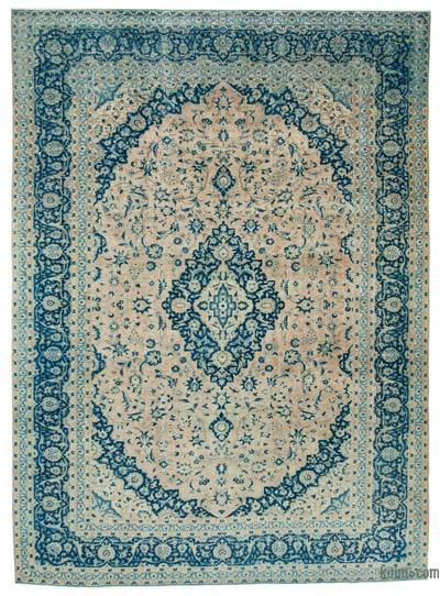 "Vintage Hand-knotted Oriental Rug - 9'11"" x 13'7"" (119 in. x 163 in.)"