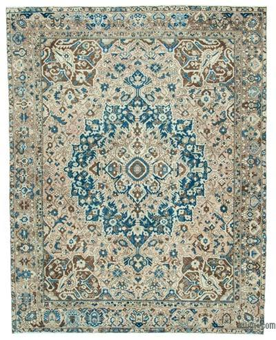 "Vintage Hand-knotted Oriental Rug - 9'8"" x 12'2"" (116 in. x 146 in.)"