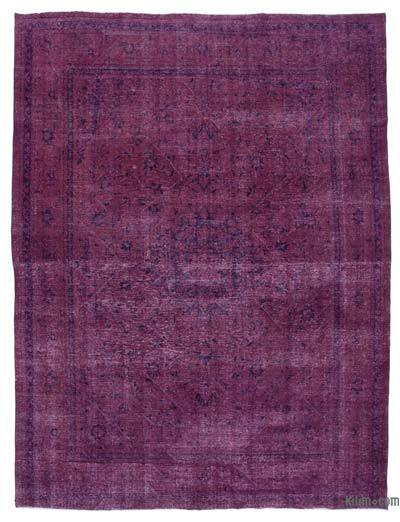 "Over-dyed Vintage Hand-knotted Oriental Rug - 9'9"" x 13' (117 in. x 156 in.)"