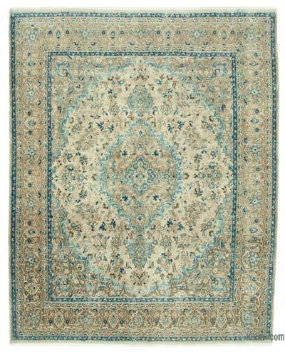 "Vintage Hand-knotted Oriental Rug - 7'11"" x 9'11"" (95 in. x 119 in.)"