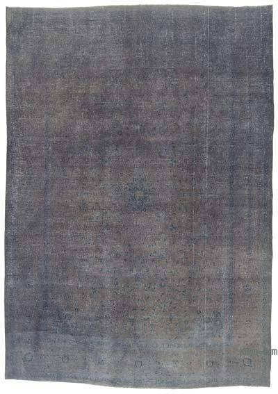 Over-dyed Vintage Rug - 9'7'' x 13'5'' (115 in. x 161 in.)