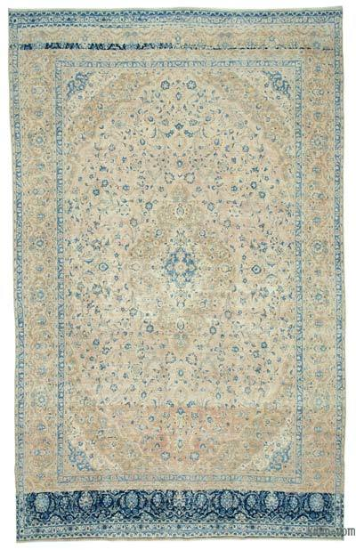 "Vintage Hand-knotted Oriental Rug - 9'6"" x 15'5"" (114 in. x 185 in.)"