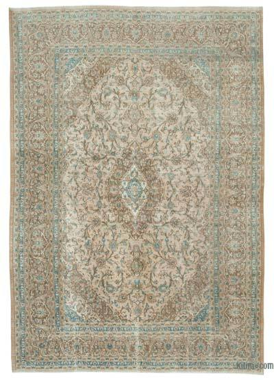 "Vintage Hand-knotted Oriental Rug - 7'9"" x 11'3"" (93 in. x 135 in.)"