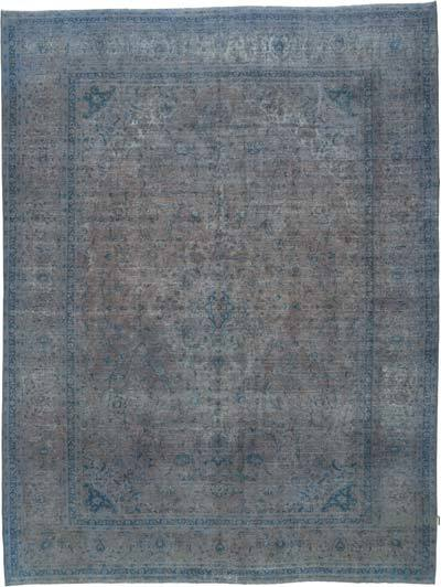 Over-dyed Vintage Rug - 10' x 13'3'' (120 in. x 159 in.)