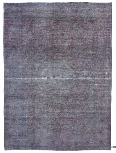 Over-dyed Vintage Rug - 9'4'' x 12'10'' (112 in. x 154 in.)