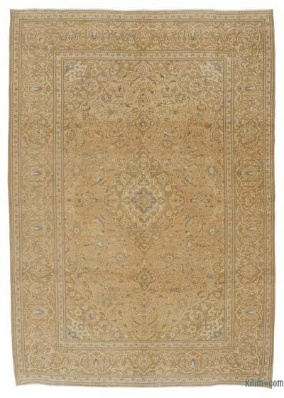 "Over-dyed Vintage Hand-knotted Oriental Rug - 8'1"" x 11'4"" (97 in. x 136 in.)"