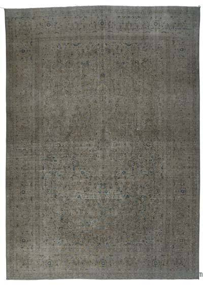 Over-dyed Vintage Rug - 8'9'' x 12'6'' (105 in. x 150 in.)