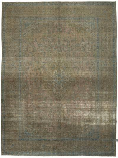 Over-dyed Vintage Rug - 9'9'' x 13'4'' (117 in. x 160 in.)