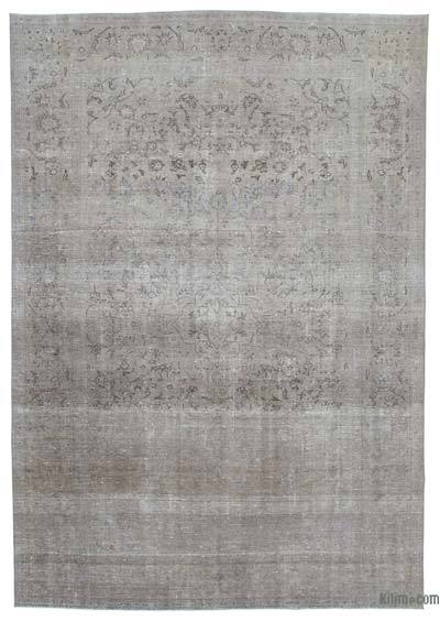 Over-dyed Vintage Rug - 8'6'' x 12'4'' (102 in. x 148 in.)