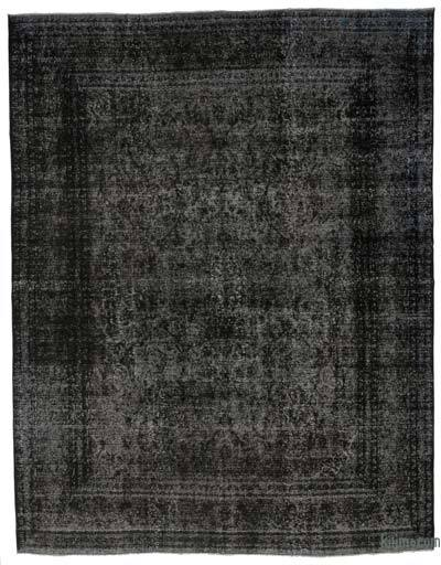 Over-dyed Vintage Rug - 9'10'' x 12'6'' (118 in. x 150 in.)