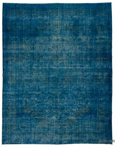 "Over-dyed Vintage Hand-knotted Oriental Rug - 9'10"" x 12'8"" (118 in. x 152 in.)"