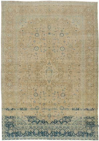 Over-dyed Vintage Rug - 9'8'' x 13'9'' (116 in. x 165 in.)