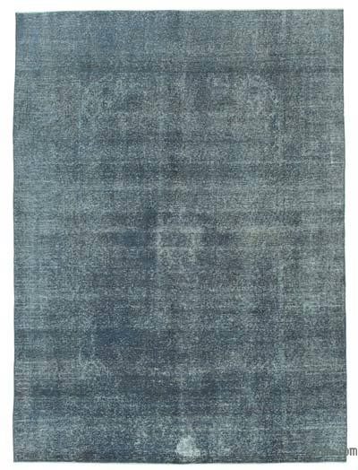 Grey Over-dyed Turkish Vintage Rug - 7'11'' x 11'3'' (95 in. x 135 in.)
