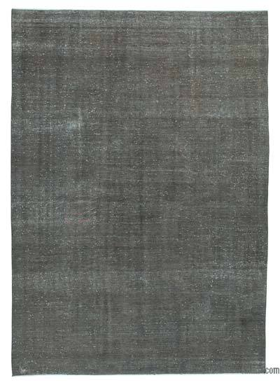 Grey Over-dyed Vintage Rug - 7'11'' x 11'3'' (95 in. x 135 in.)