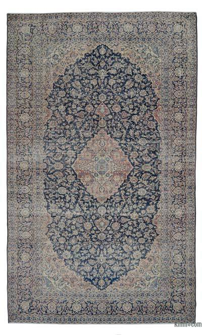 "Vintage Hand-knotted Oriental Rug - 9'5"" x 15'7"" (113 in. x 187 in.)"