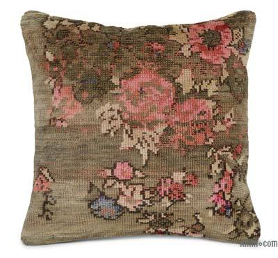 Turkish Pillow Cover - 1'8'' x 1'8'' (20 in. x 20 in.)