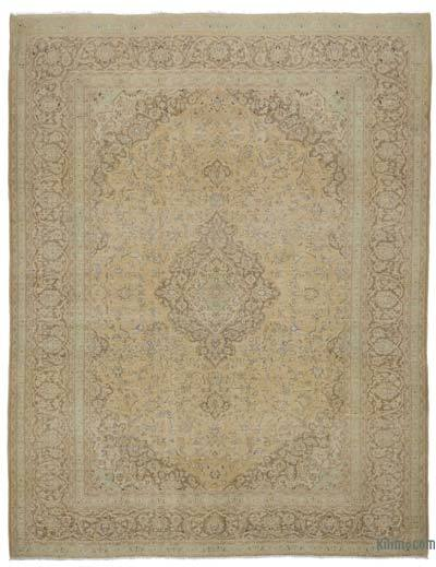 "Vintage Hand-knotted Oriental Rug - 9'9"" x 12'6"" (117 in. x 150 in.)"