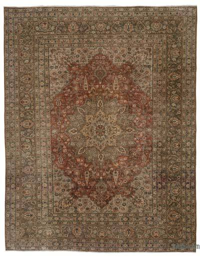 "Vintage Hand-knotted Oriental Rug - 8'2"" x 10'6"" (98 in. x 126 in.)"