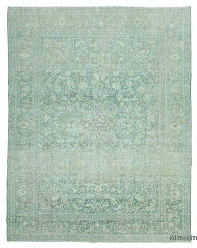"Vintage Hand-knotted Oriental Rug - 10'7"" x 13'7"" (127 in. x 163 in.)"