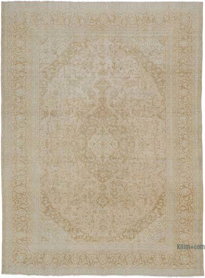 "Vintage Hand-knotted Oriental Rug - 9'4"" x 12'8"" (112 in. x 152 in.)"