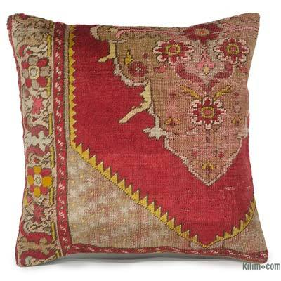 "Turkish Pillow Cover - 1'8"" x 1'8"" (20 in. x 20 in.)"