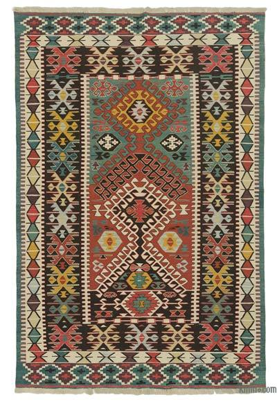 "New Handwoven Turkish Kilim Rug - 6' x 8'11"" (72 in. x 107 in.)"