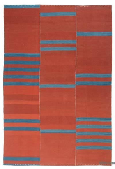 "New Handwoven Turkish Kilim Rug - 8'1"" x 12' (97 in. x 144 in.)"