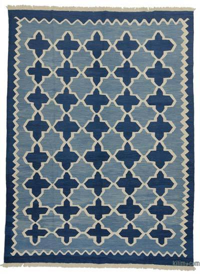 "New Handwoven Turkish Kilim Rug - 8'4"" x 11'4"" (100 in. x 136 in.)"