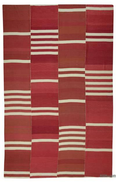 "New Handwoven Turkish Kilim Rug - 10'10"" x 16'10"" (130 in. x 202 in.)"