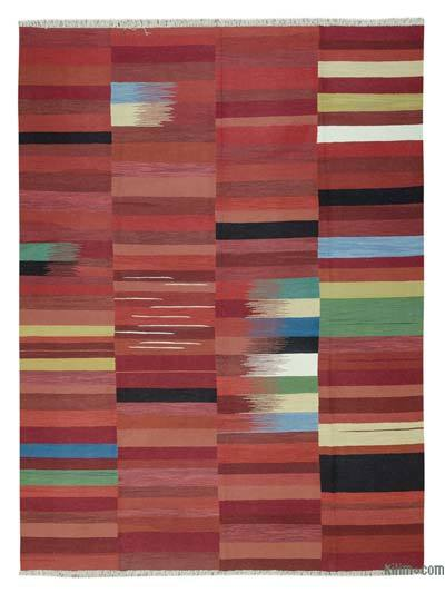 "New Handwoven Turkish Kilim Rug - 10' x 13'5"" (120 in. x 161 in.)"