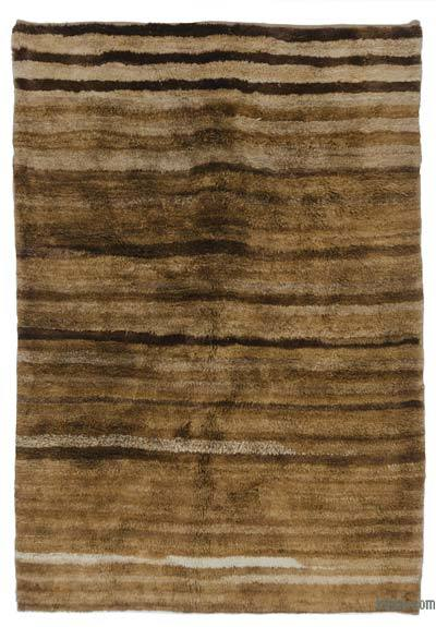 "New Contemporary Hand-Knotted Wool Area Rug - 5'3"" x 7'7"" (63 in. x 91 in.)"