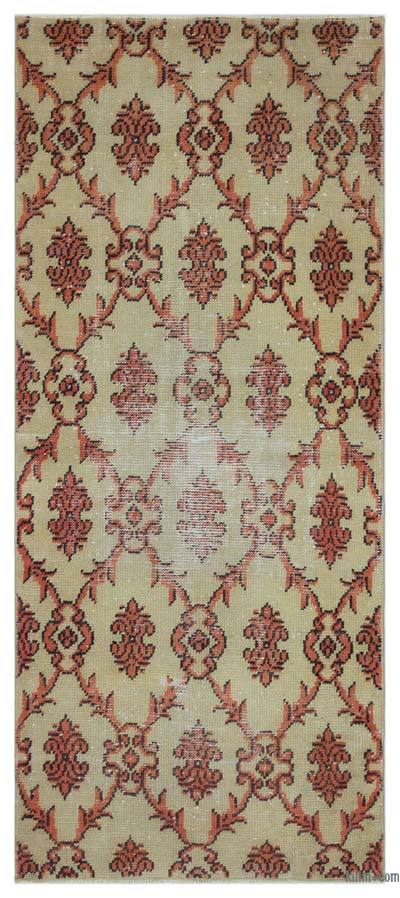 "Turkish Vintage Area Rug - 2'6"" x 5'9"" (30 in. x 69 in.)"
