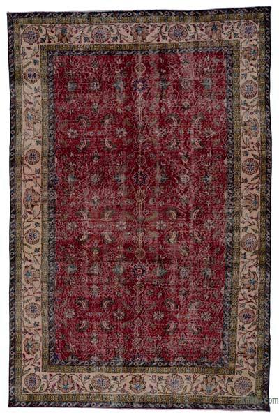 "Turkish Vintage Area Rug - 5'7"" x 8'7"" (67 in. x 103 in.)"