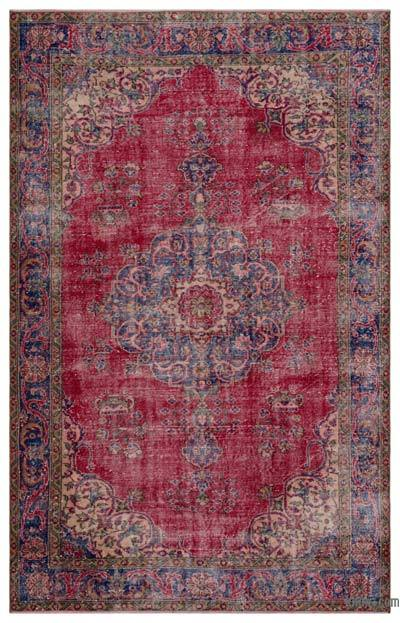 "Turkish Vintage Area Rug - 6'1"" x 9'6"" (73 in. x 114 in.)"