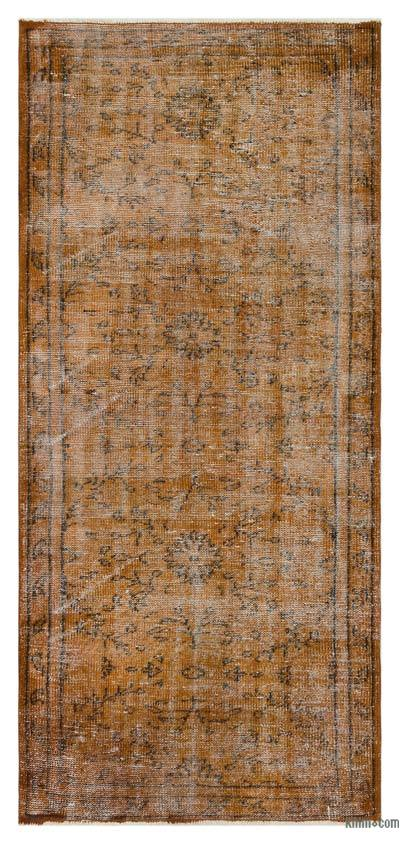 "Over-dyed Turkish Vintage Rug - 3' x 6'7"" (36 in. x 79 in.)"