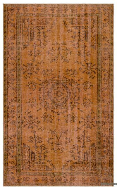 "Over-dyed Turkish Vintage Rug - 5'1"" x 8'1"" (61 in. x 97 in.)"