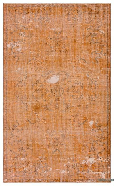 "Over-dyed Turkish Vintage Rug - 4'11"" x 8'2"" (59 in. x 98 in.)"