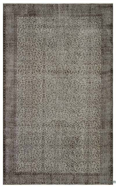 "Over-dyed Turkish Vintage Rug - 5'7"" x 9'4"" (67 in. x 112 in.)"