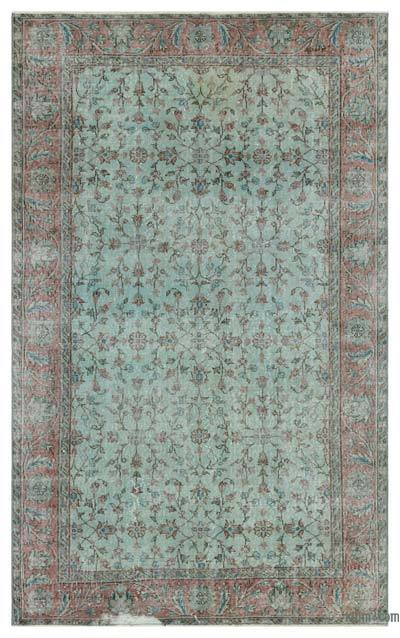 "Over-dyed Turkish Vintage Rug - 5' x 8'1"" (60 in. x 97 in.)"