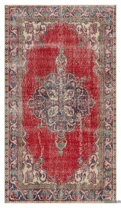 "Turkish Vintage Area Rug - 3'9"" x 6'6"" (45 in. x 78 in.)"