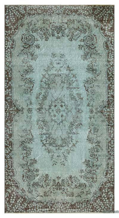 "Over-dyed Turkish Vintage Rug - 3'9"" x 6'11"" (45 in. x 83 in.)"