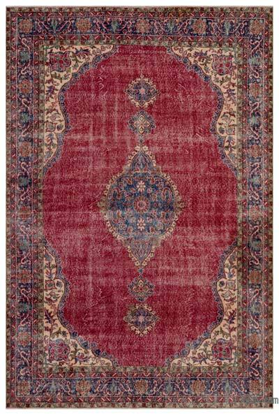 "Turkish Vintage Area Rug - 7' x 10'6"" (84 in. x 126 in.)"