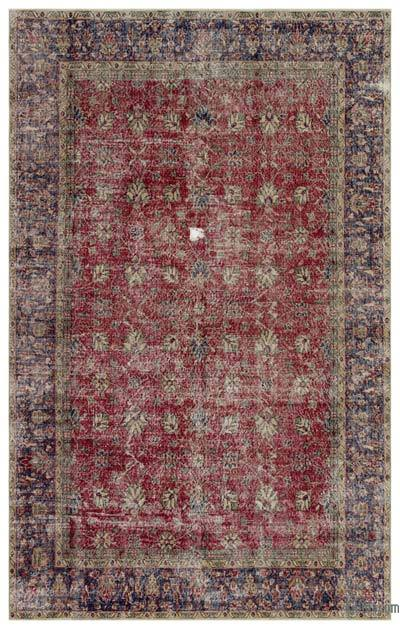 "Turkish Vintage Area Rug - 6'5"" x 10'3"" (77 in. x 123 in.)"