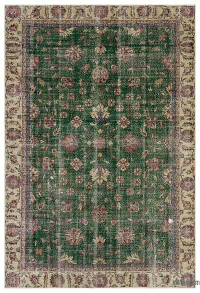 "Turkish Vintage Area Rug - 6'2"" x 9'1"" (74 in. x 109 in.)"