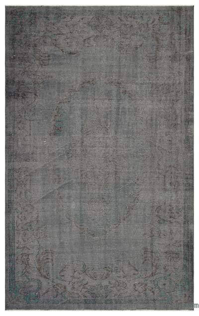 "Over-dyed Turkish Vintage Rug - 5'7"" x 8'11"" (67 in. x 107 in.)"