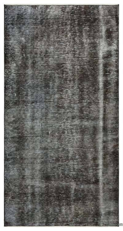 "Over-dyed Turkish Vintage Rug - 3'4"" x 6'7"" (40 in. x 79 in.)"