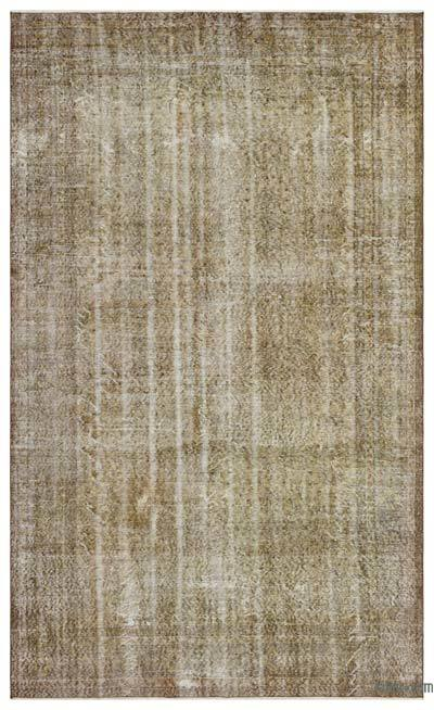 "Over-dyed Turkish Vintage Rug - 6'7"" x 10'2"" (79 in. x 122 in.)"