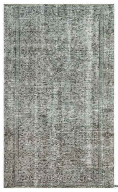 "Over-dyed Turkish Vintage Rug - 4'6"" x 7'7"" (54 in. x 91 in.)"